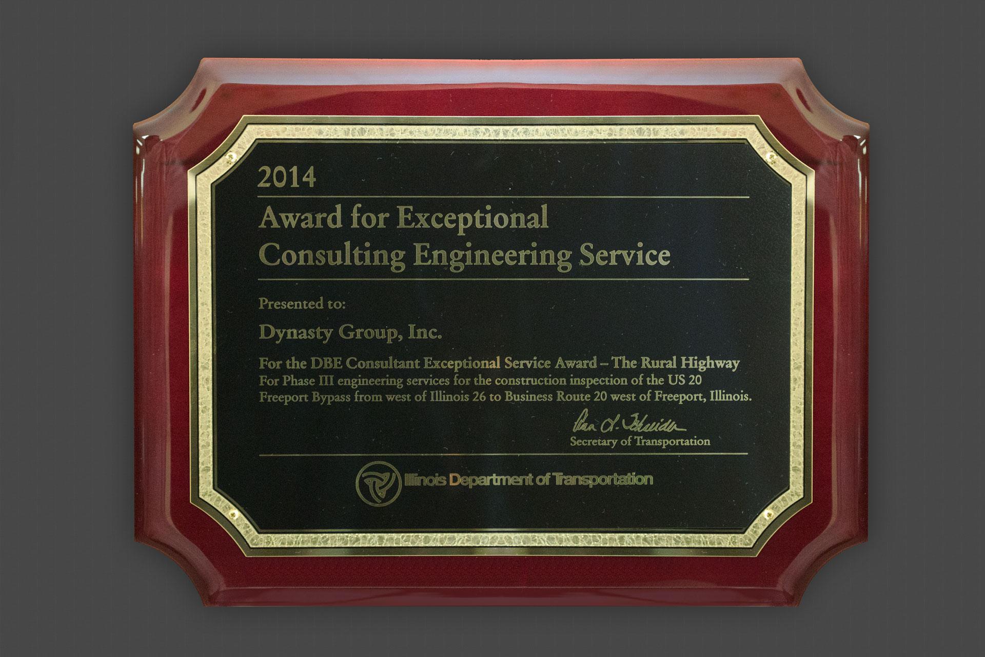 Dynasty Group Inc 102